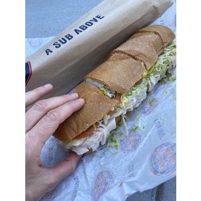 jersey mike's sizes