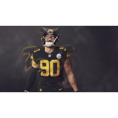 nfl color rush jersey steelers