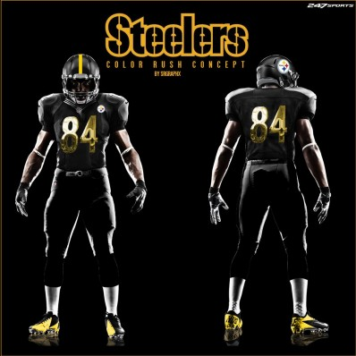 steelers christmas day jersey